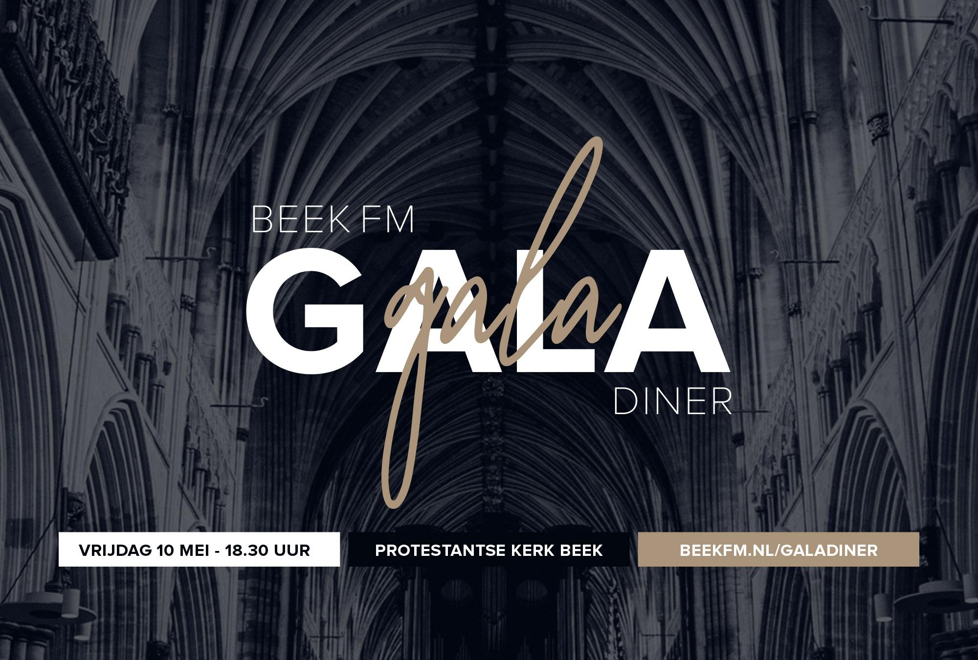Beek FM Gala Diner als startschot Beek FM 2019!